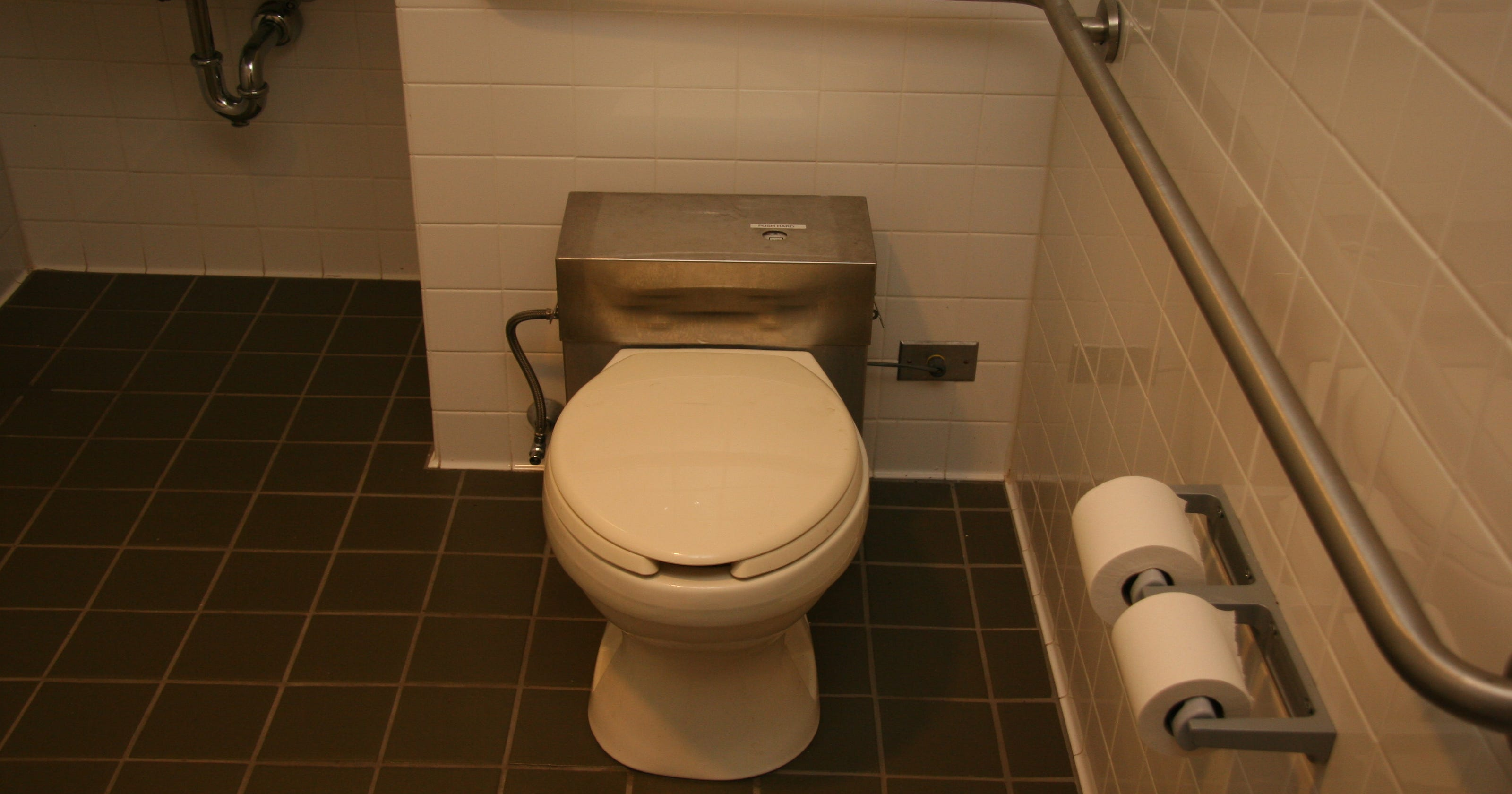 How an unusual toilet gave county officials pause