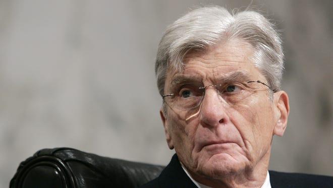Former Sen. John Warner
