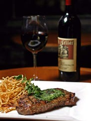 Bold steaks should be paired with bold red wines.
