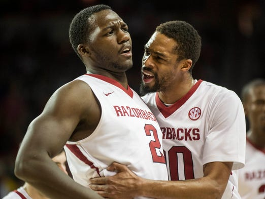 Arkansas: The Razorbacks have two overtime wins over Kentucky that greatly bolster their resume as well as two winning streaks of at least six games. Arkansas does however have a number of losses to fellow SEC bubble teams.