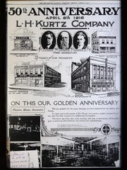 A Des Moines Evening Tribune from 1916 celebrates the
