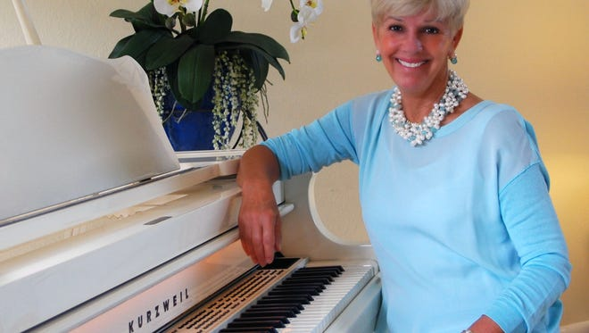 """Martin County resident Susie McAllister has produced a CD titled """"Believe"""" and is donating all proceeds to Artists for a Cause and StarStruck Theatre."""