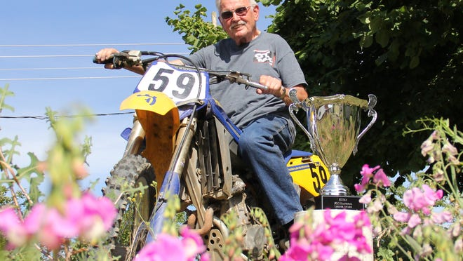 Dave Scott of Monmouth is believed to be the oldest active motorcross racer in the world.