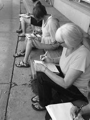 Drawing is for Everyone Workshop began Wednesday from