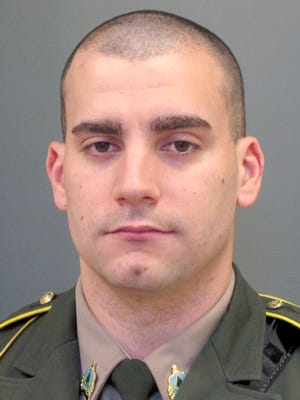Vermont State Police Trooper Eric Rademacher is due in court on a DUI citation.