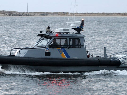 The New Jersey State Police Marine Unit's sonar equipment was used Tuesday to locate the body of a Somerville man who jumped off a cliff into the Chimney Rock Reservoir on Monday.