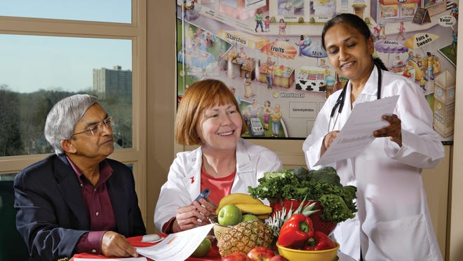 The Diabetes Self-Management Education Program is tailored to the needs of Saint Peter's Healthcare System patients.