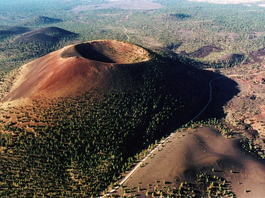 Sunset Crater Volcano National Monument.
