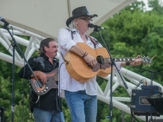 Freddy Lovvorn performs with the The Head N' South Band in 2016 at Montgomery's Riverfront Park.