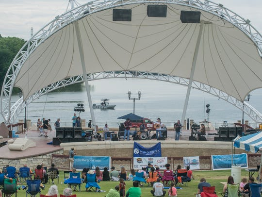 Second Saturday at Riverfront Amphitheater in Montgomery's