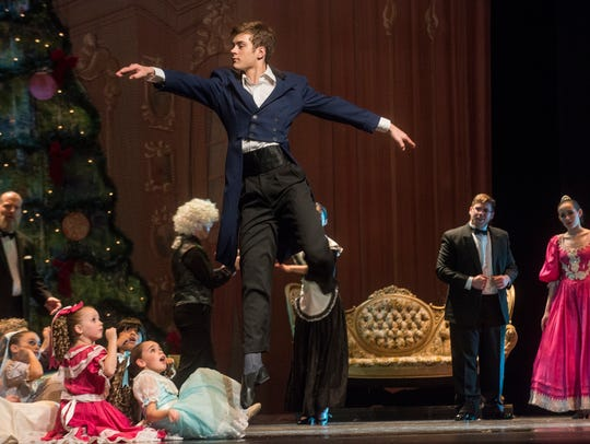 "The Montgomery Ballet performs ""The Nutcracker"" on"