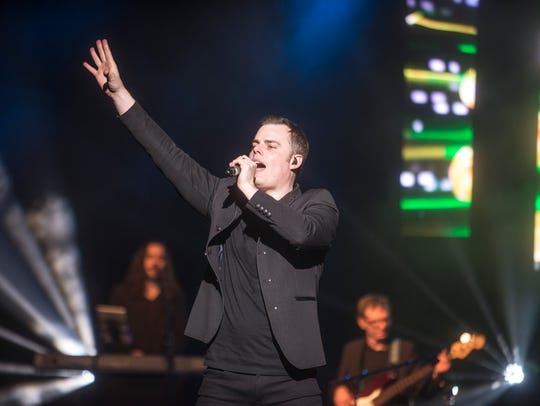 "Marc Martel will lead the Black Jacket Symphony in recreating Queen's ""A Night at the Opera"" at the King Center for the Performing Arts on Thursday, Jan. 31, 2019."