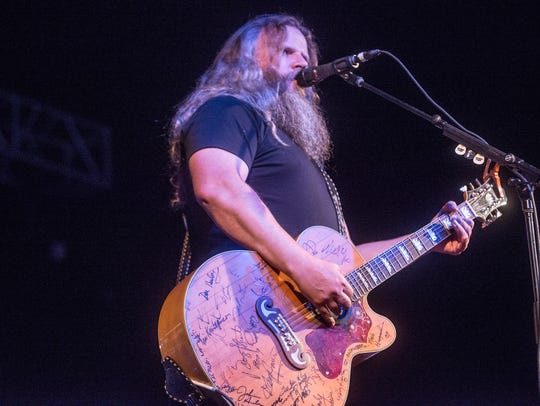 Country singer and songwriter Jamey Johnson of Montgomery,