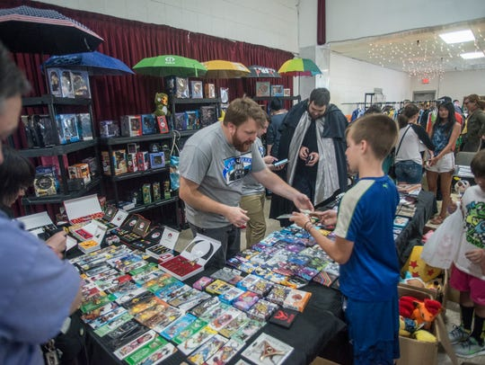 The first ever Gump City Con was held Saturday, Aug.
