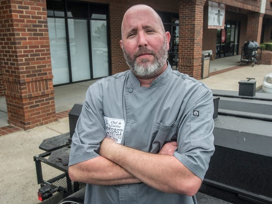 Drew Bass, executive chef at PepperTree Steaks N' Wines,
