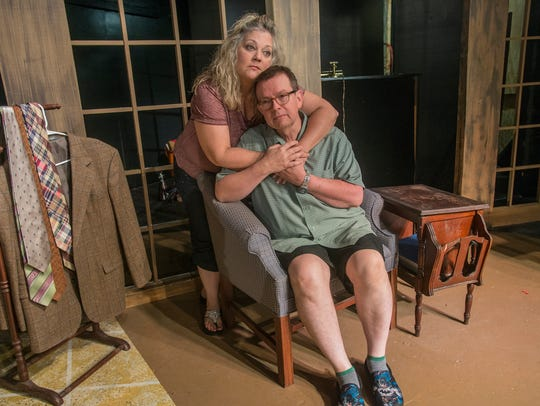 Kim Mason and Jeff Langham are the Act 2 couple portraying
