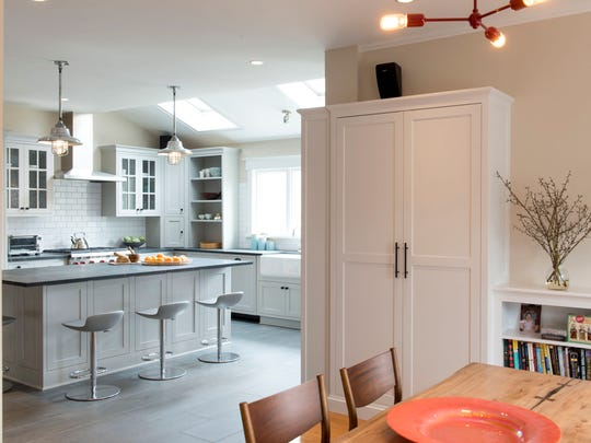 Tearing down walls to create an open kitchen living