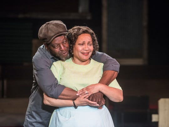 Ronald McCall and Yvette Jones-Smedley as Troy and