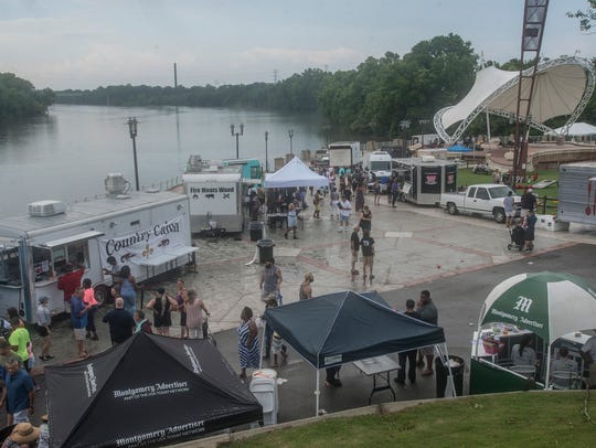 The Food Truck Mash-Up was held Saturday, June 9, at