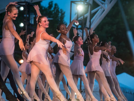 The Alabama Dance Theatre presented Stars on the Riverfront