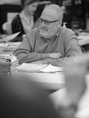 """Director David Ira Goldstein in rehearsals for """"The Diary of Anne Frank."""""""