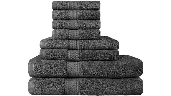 Give yourself a spa experience every time you shower with a new towel set.