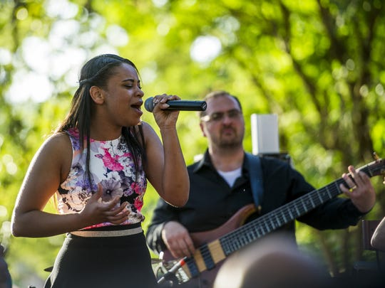 """Koryn Hawthorne, an Abbeville native and competitor on the NBC television music series """"The Voice,"""" is part of the Uniting Acadiana concert this weekend."""