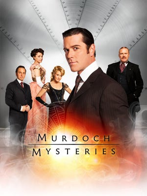 """Murdoch Mysteries,"" a genial detective series set in Toronto in the 1890s airs on Ovation."