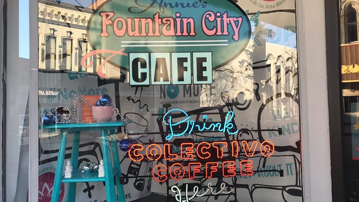 Streetwise: Parklet coming to Annie's Fountain City Cafe in Fond du Lac
