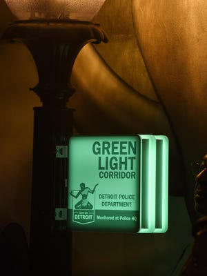 Businesses get lights, signs and cameras installed to alert customers they are members of the program.