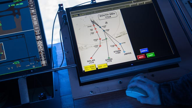 Denver International Airport has one of the nation's first Next Generation Transportation Systems in the country. The NextGen system moves the country's air traffic control from a ground-based radar system to a satellite GPS-based system.