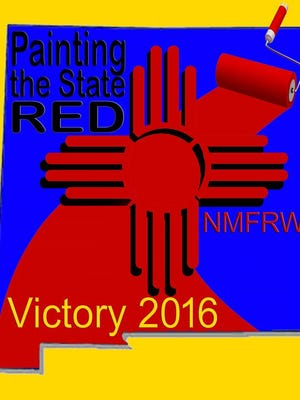 """The Federated Republican Women of New Mexico will be """"Painting the State Red, Victory in 2016."""""""