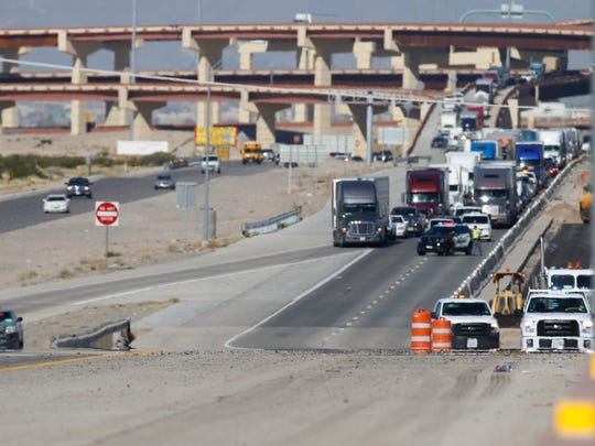 An off-duty U.S. Border Patrol agent was shot at as he was driving on Interstate 10 East near the Eastlake Boulevard exit Oct. 25, officials said.