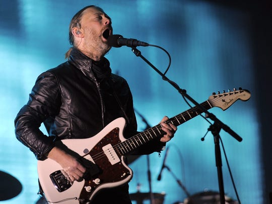 In this April 14, 2012, file photo, Thom Yorke of Radiohead