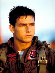 """Top Gun"" was only the eighth film credit for Tom Cruise,"