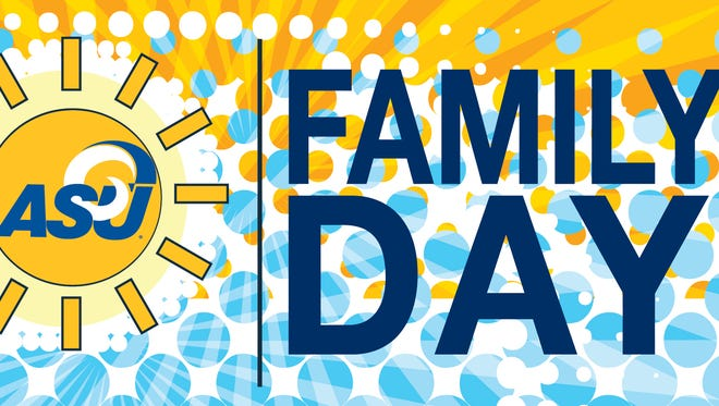 Angelo State University's Family Day 2017