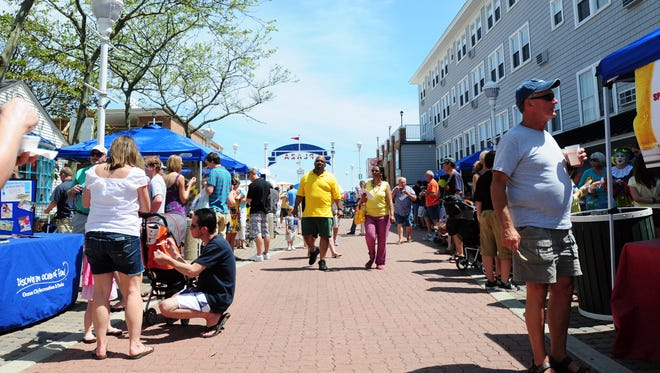 FILE IMAGE: The White Marlin Festival and Crab Soup Cookoff was held Saturday at the Somerset Plaza in Ocean City. This year's event will be held May 14, 2016.