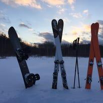Skiers at Aqua Terra Park in Binghamton recreate Innsbruck USA in a spring skiing odyssey