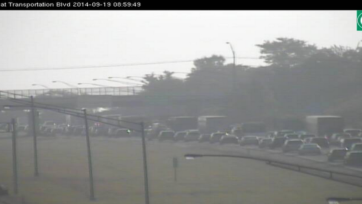 Crash on I-480 EB near Granger Rd in Garfield Hts. slows traffic.  Estimated delay of 10 minutes through the area.