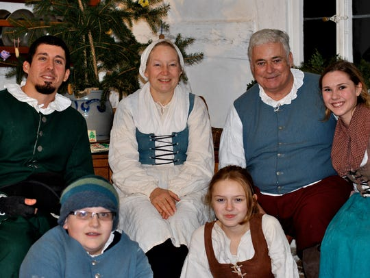 Frontier Culture Museum celebrates Christmas with a