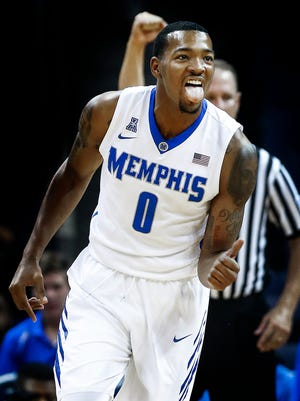 University of Memphis forward K.J. Lawson scored a career-high 25 points — to go with a career-high eight rebounds against the University of Texas Rio Grande Valley on Monday.