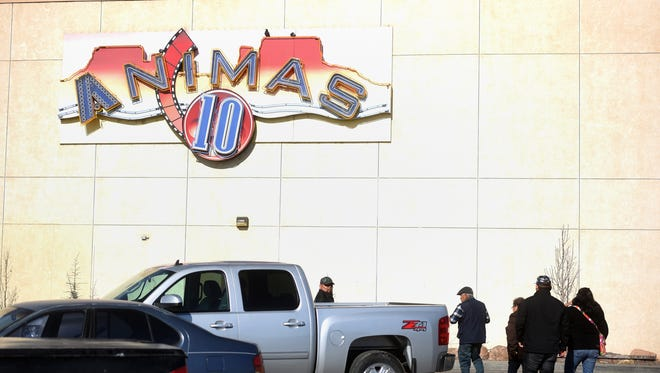 Moviegoers visit the Animas 10 cinema on Saturday at the Animas Valley Mall. The theater complex offers arthouse films every Wednesday.