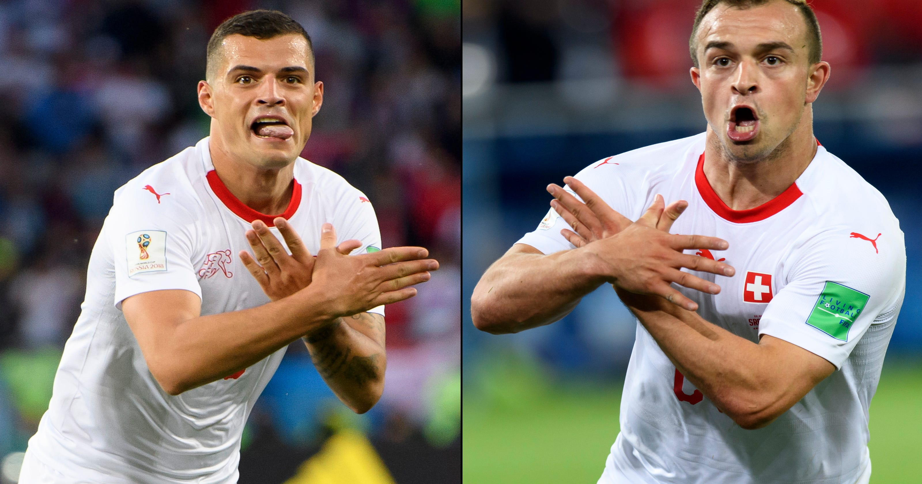 6f1a5afe646 World Cup: Controversial gestures could warrant ban for Swiss players