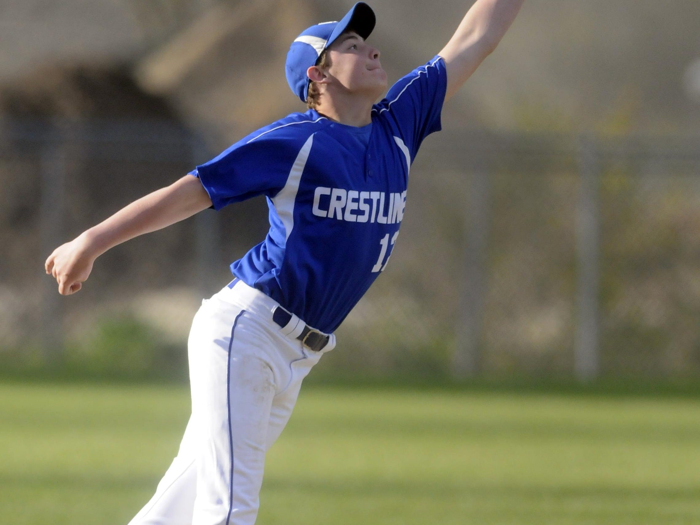 Crestline's Nathan Coffman is the 2015 All-Crawford County Player of the Year.
