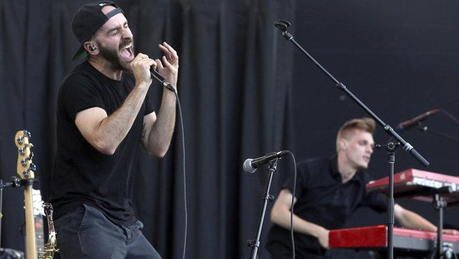 X Ambassadors performs at the U.S. Cellular Connection Stage at Summerfest on June 25.