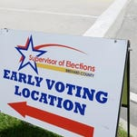 Early in-person voting begins at 8 a.m. Monday at 10 sites throughout Brevard County