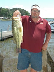 West Monroe's Ralph Swillie of Caney Lake Bass Club