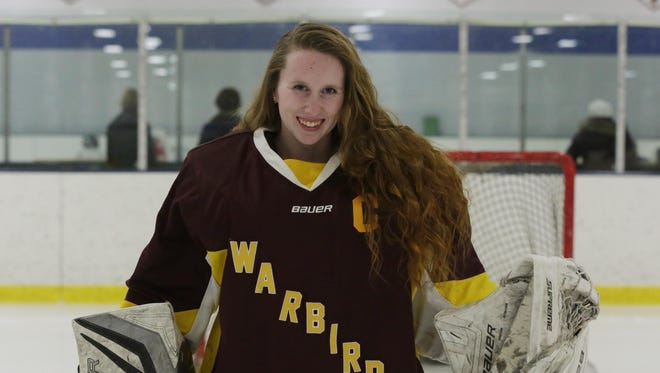 Rebecca Binder goalie for the Warbirds is 14-2-2 having allowed just 17 goals on 326 shots with a 1.20 goals against average.