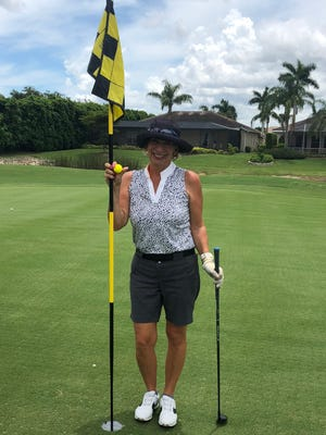 Dana Hoffman made a hole-in-one with a 6-hybrid from 115 yards on No. 7 at Cedar Hammock Golf & Country Club on Thursday, June 14, 2018. Her husband, Dean, made one the following day.