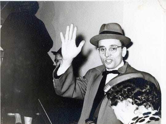 Bill Snyder, newly minted PhD, in 1956.
